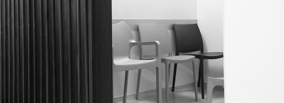 salle d'attente du cabinet des gynécologues de Vannes